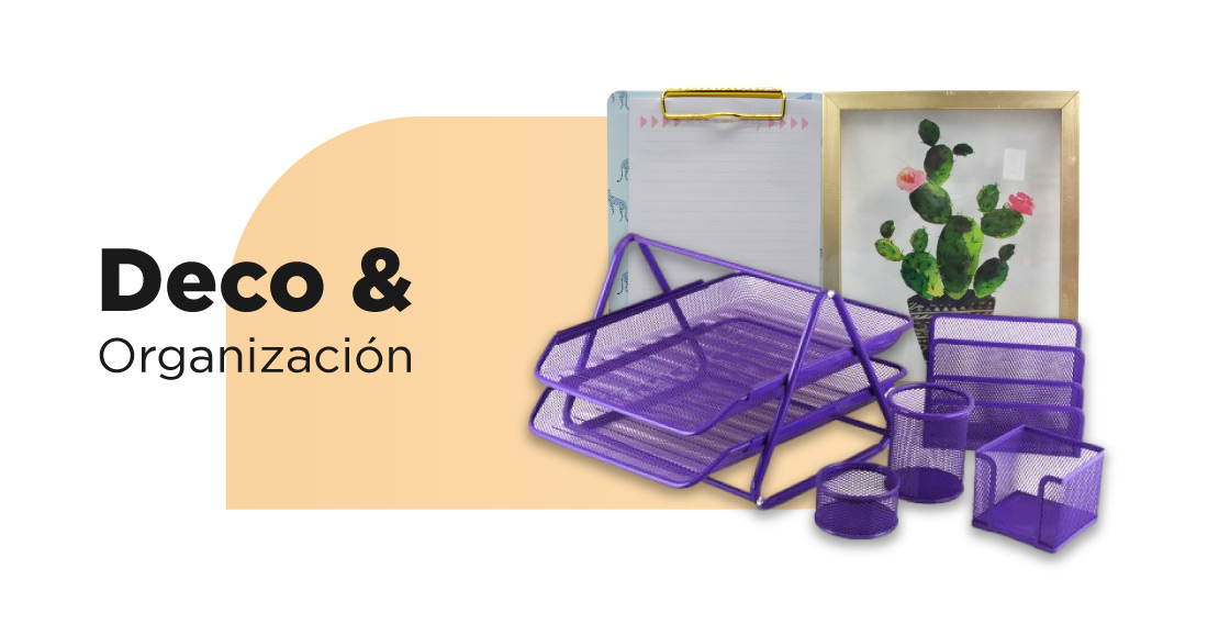 Productos Deco y Organización