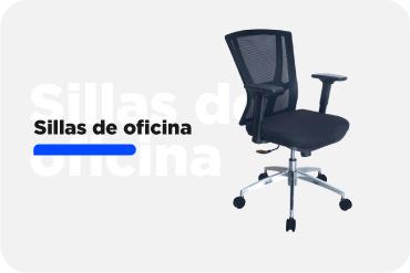 Sillas cómodas, ergonómicas para oficina