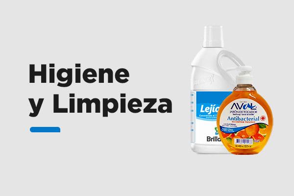 Todo lo que necesitas Higiene y Limpieza