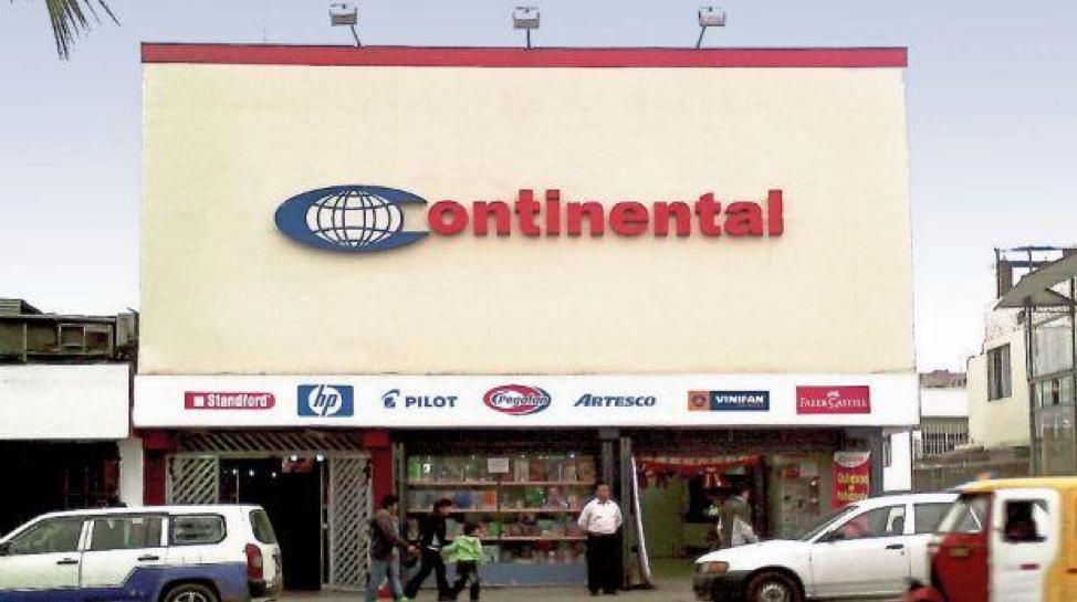 Continental - Tienda
